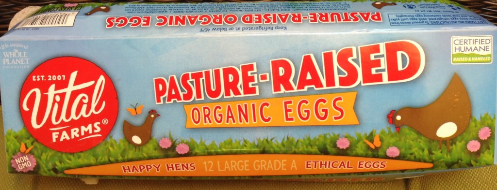 Vital Farms offer a good choice for eggs from ethically raised Chickens.